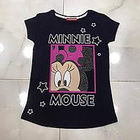 Подростковая футболка MINNIE MOUSE для девочек 7-14 лет,цвет уточняйте при заказе, фото 1