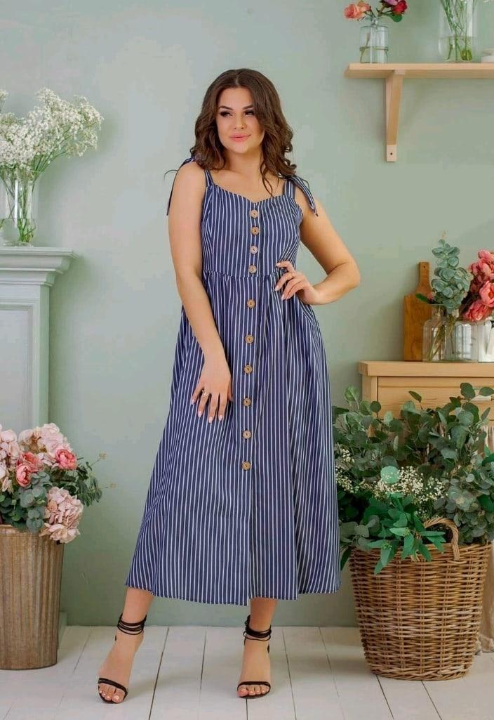 Сукня жіноча джинс літній р 42, 44, 46 різні кольори
