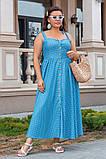 Сукня жіноча джинс літній р 42, 44, 46 різні кольори, фото 4