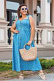 Сукня жіноча джинс літній р 42, 44, 46 різні кольори, фото 7
