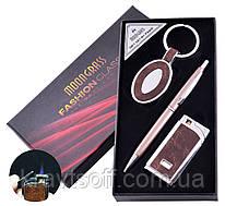 Подарочный набор брелок, ручка, зажигалка №AL-608