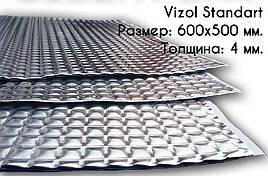 Виброизоляция для авто Vizol Econom 330x500x3мм