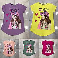 Подростковая футболка AI SO BEY для девочек 7-14 лет,цвет уточняйте при заказе, фото 1