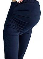 630102 Лосины беременным трикотаж Синие