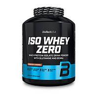Изолят протеина без сахара глютена и лактозы BioTech Iso Whey Zero без лактозы 2,27 kg