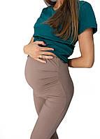 630108 Лосины для беременных Коричневые