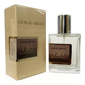 Giorgio Armani Acqua Di Gio Absolu Instinct Perfume Newly мужской, 58 мл