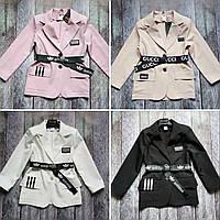 Стильный жакет пиджак для девочки (140-158р)