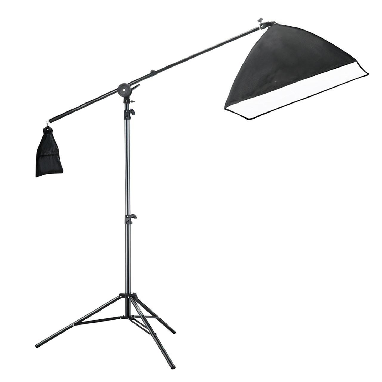 Навесной софтбокс журавль для фотостудии Prolighting (50х70 см.с патроном Е27)