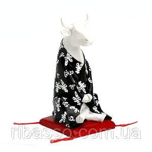 Колекційна статуетка корова Meditating, Size M