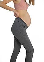 630203 Лосины беременным с бандажным поясом Серые