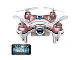 Квадрокоптер з камерою Wi-Fi Cheerson CX-10W нано (рожевий), фото 5