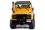 Машинка на радиоуправлении 1:12 MN Model Краулер D90 Defender полноприводный (желтый), фото 5