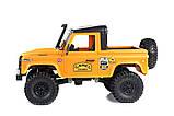 Машинка на радиоуправлении 1:12 MN Model Краулер D90 Defender полноприводный (желтый), фото 6