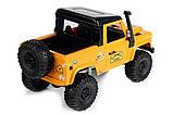 Машинка на радиоуправлении 1:12 MN Model Краулер D90 Defender полноприводный (желтый), фото 7