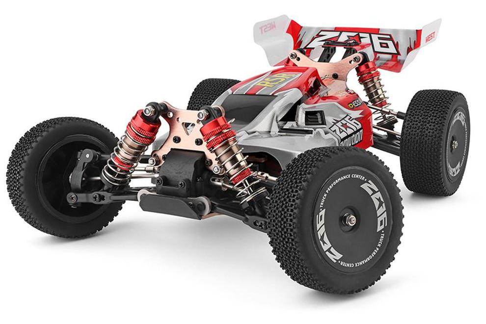 Машинка на радіокеруванні 1:14 баггі WL Toys 144001 4WD (червоний)