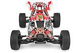 Машинка на радіокеруванні 1:14 баггі WL Toys 144001 4WD (червоний), фото 5