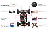 Машинка на радіокеруванні 1:14 баггі WL Toys 144001 4WD (червоний), фото 10