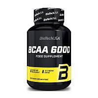 Аминокислоты bcaa BioTech BCAA 6000 (100 tabs)
