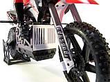 Радіокерована модель Мотоцикл 1:4 Himoto Burstout MX400 Brushed (зелений), фото 3