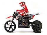 Радиоуправляемая модель Мотоцикл 1:4 Himoto Burstout MX400 Brushed (красный), фото 2