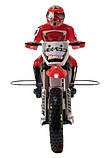 Радиоуправляемая модель Мотоцикл 1:4 Himoto Burstout MX400 Brushed (красный), фото 3
