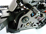 Радиоуправляемая модель Мотоцикл 1:4 Himoto Burstout MX400 Brushed (красный), фото 6