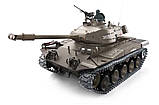 Танк на радиоуправлении 1:16 Heng Long Bulldog M41A3 с пневмопушкой и и/к боем (Upgrade), фото 2