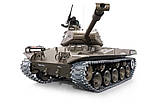 Танк на радиоуправлении 1:16 Heng Long Bulldog M41A3 с пневмопушкой и и/к боем (Upgrade), фото 3