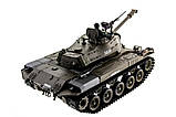 Танк на радиоуправлении 1:16 Heng Long Bulldog M41A3 с пневмопушкой и и/к боем (Upgrade), фото 8