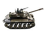 Танк на радиоуправлении 1:16 Heng Long Bulldog M41A3 с пневмопушкой и и/к боем (Upgrade), фото 9