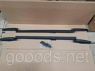 Рейлинги черные на крышу Renault Kangoo (98-08)