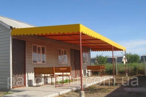 Маркизы для частного загородного дома от Ветра, Снега, Солнца, Дождя