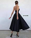 Женское платье, турецкая костюмка, р-р 42-44; 44-46 (чёрный), фото 2