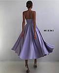 Женское платье, турецкая костюмка, р-р 42-44; 44-46 (сиреневый), фото 2