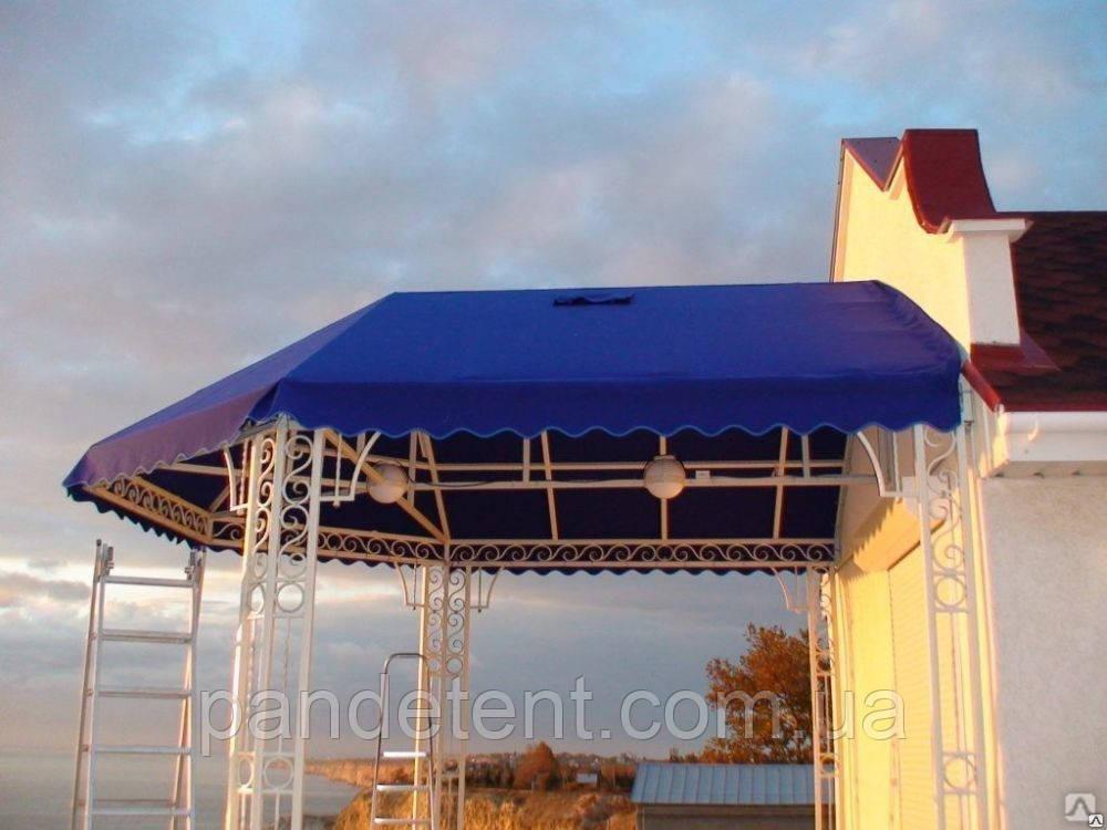 Тентовый ПВХ навес для оформление сцен, подиумов, летних площадок