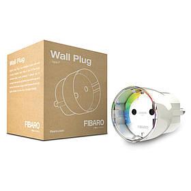 Розеточный выключатель со счетчиком электроэнергии FIBARO Wall Plug — FIBEFGWPF-102-5 (FIB_FGWPF-101)