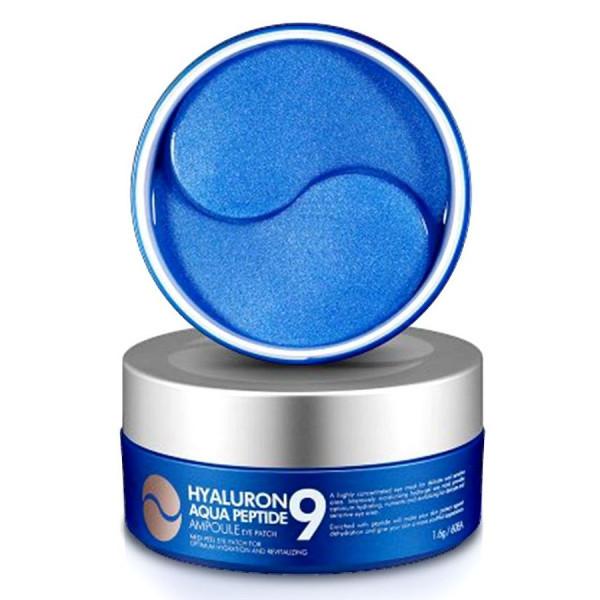 Гидрогелевые патчи с экстрактом морских водорослей  MEDI-PEEL Hyaluron Aqua Peptide 9 Ampoule Eye Patch 60шт