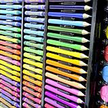 Набір для малювання Super Mega Art Set 228 предметів у валізці, фото 4
