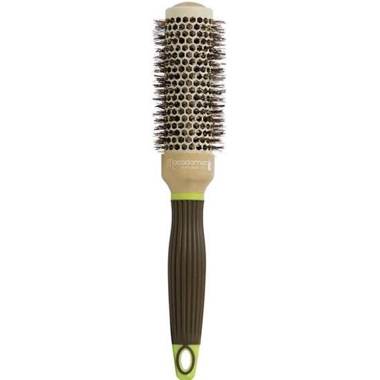 Брашинг для волос с натуральной щетиной Macadamia Professional Ceramic Round Brush, 33 мм