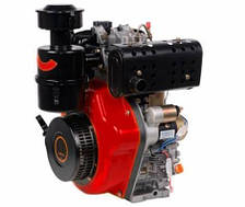 Дизельный двигатель Vitals DM 14.0sne (шлиц, 14 л.с, эл. стартер,25 мм )
