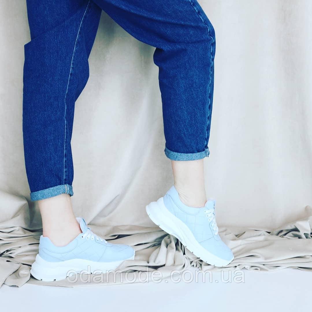 Кросівки жіночі блакитні