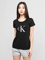 Женский комплект Calvin Klein футболка + шорты, кельвин кляйн