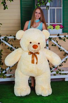 Плюшевий ведмедик Вэтли 160 см Персиковий