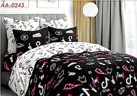 Детское постельное белье полуторное хлопок 100 % Постельное белье Тик Ток