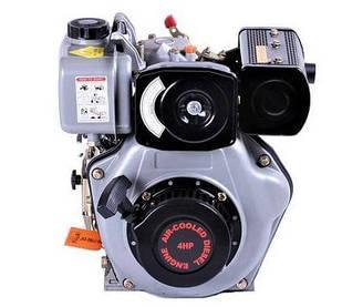 Двигатель дизельный TATA 170D (под шпонку, 4 л.с.)