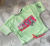 Подростковый трикотажный топ для девочки Give 8-16 лет, цвет уточняйте при заказе, фото 1