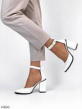 Туфли белого цвета 11692 (ЯМ), фото 3