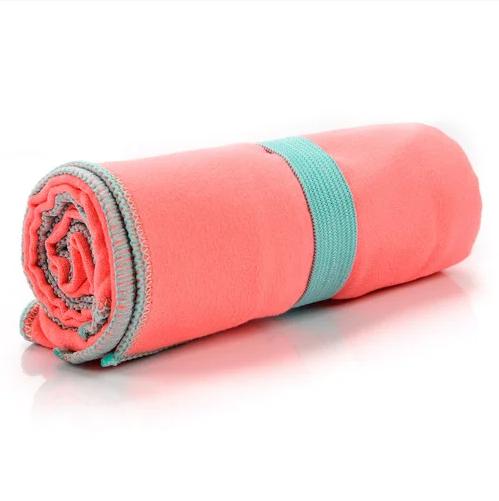 Быстросохнущее полотенце Meteor Towel 42х55 см Коралловое (31570)