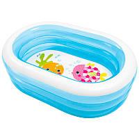 Детский надувной бассейн Intex  57482, овальный